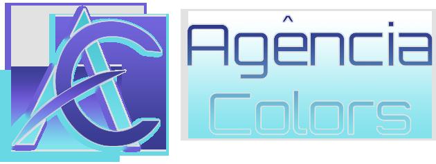 logotipo empresa de sites agencia colors