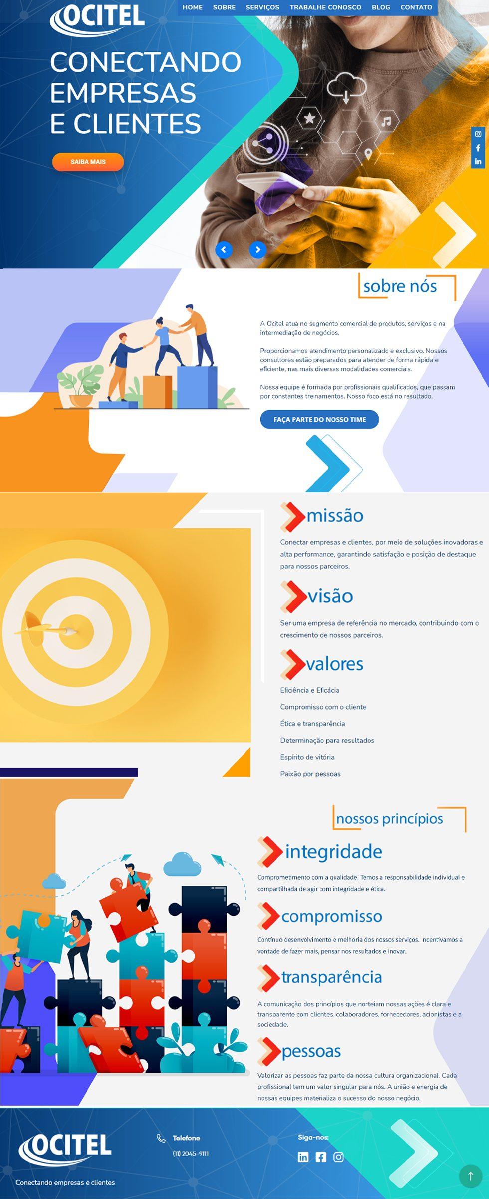 ocitel cliente agencia portfolio
