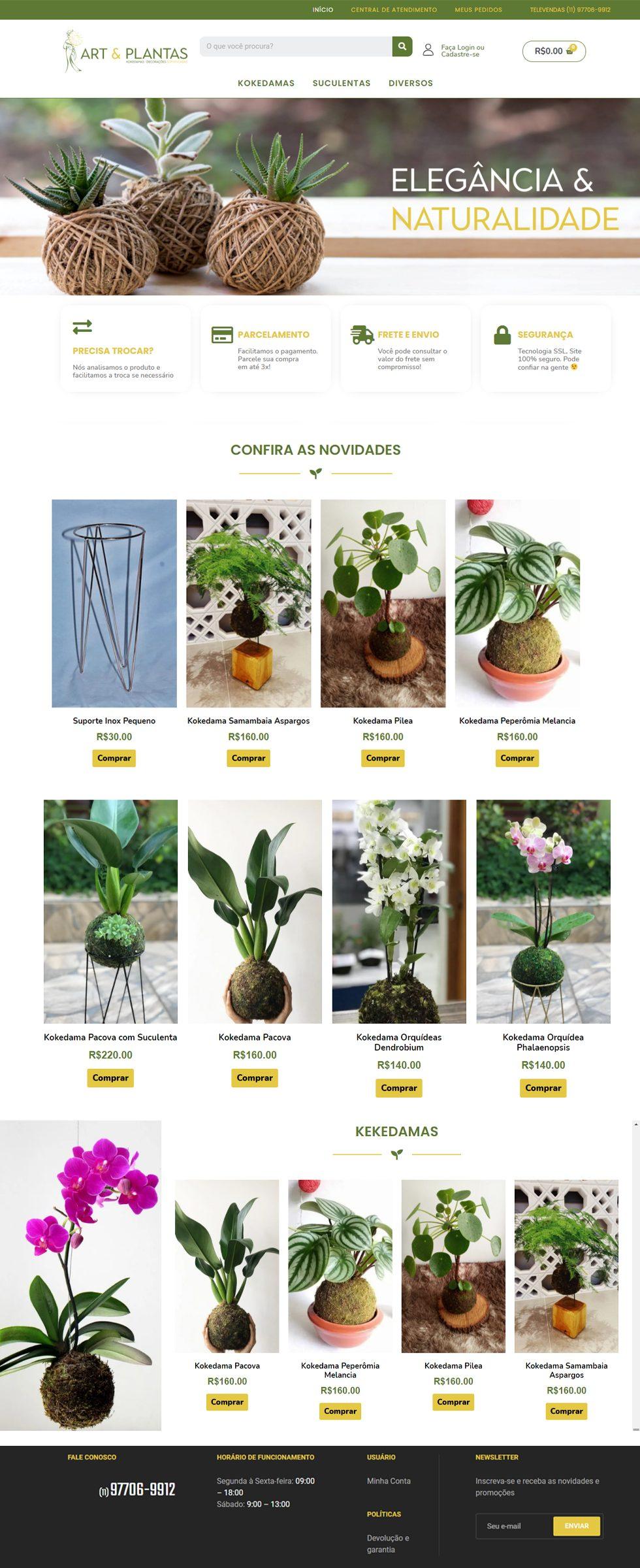 arte e plantas clientes portfolio