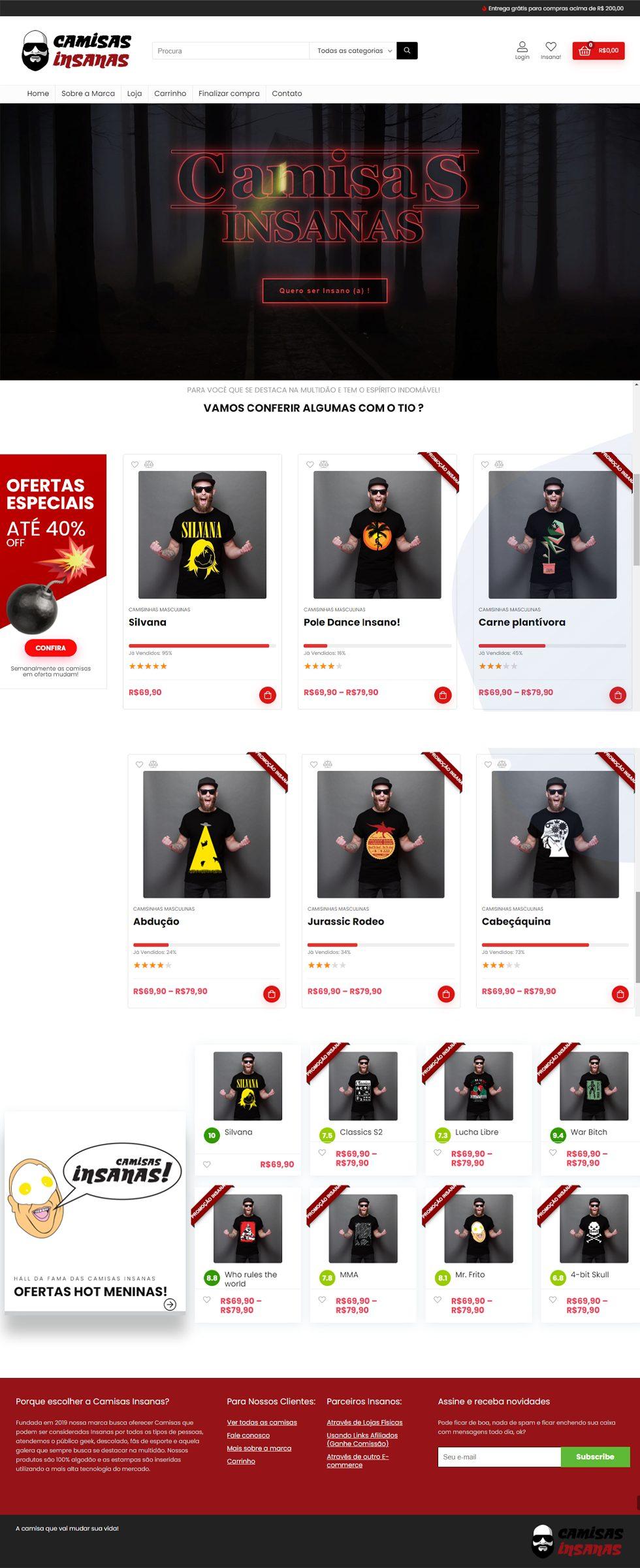 camisas insanas clientes portfolio